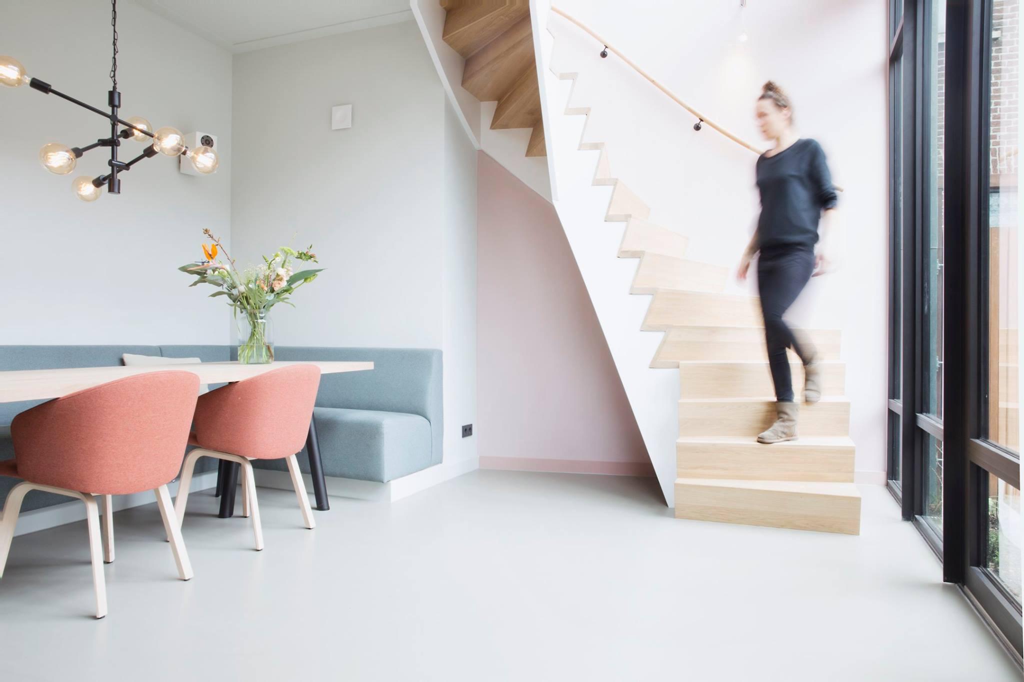 Verbouw huis aan de Kromme Rijn in Utrecht door BB Koedam