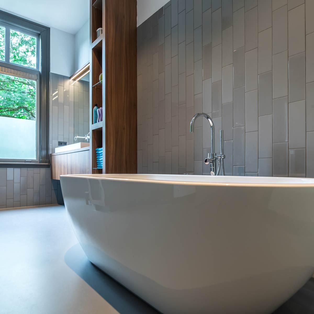 Badkamer van de stadsvilla
