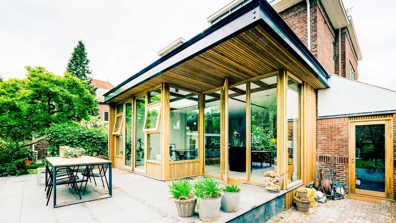 Oldenbarneveldtlaan Haarlem uitbouw